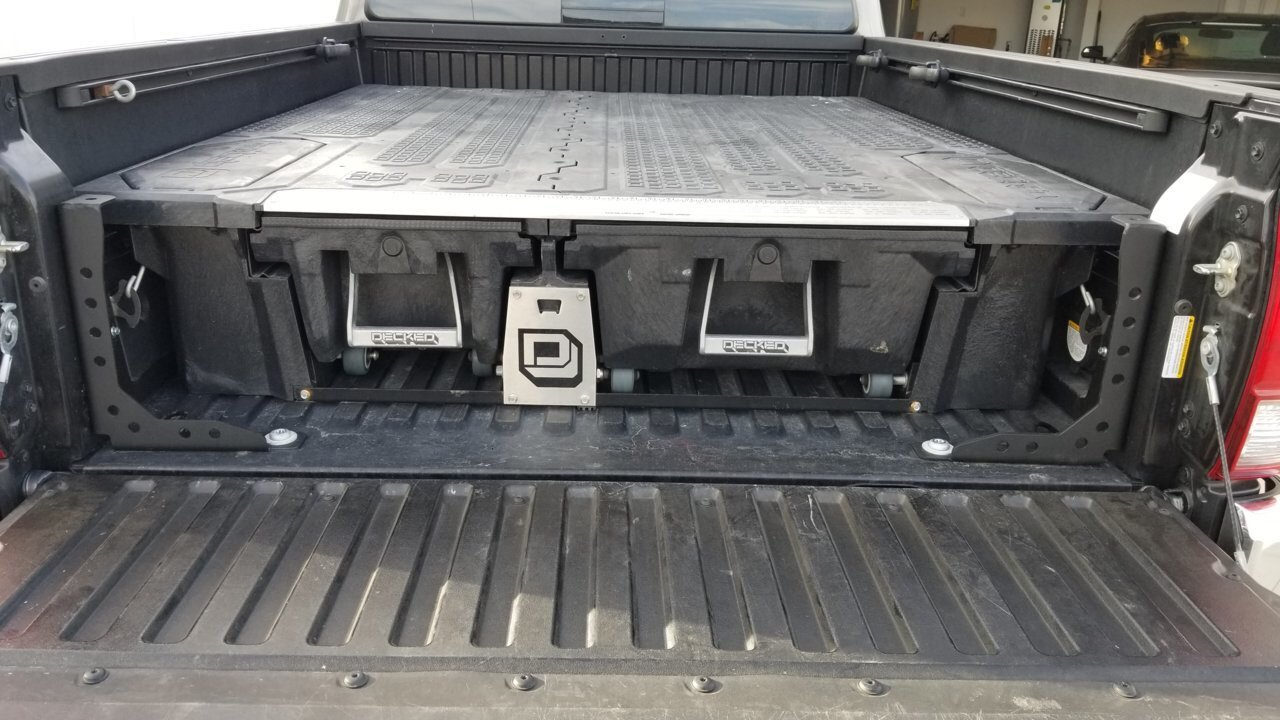 Cali Raised Truck Bed Channel Supports