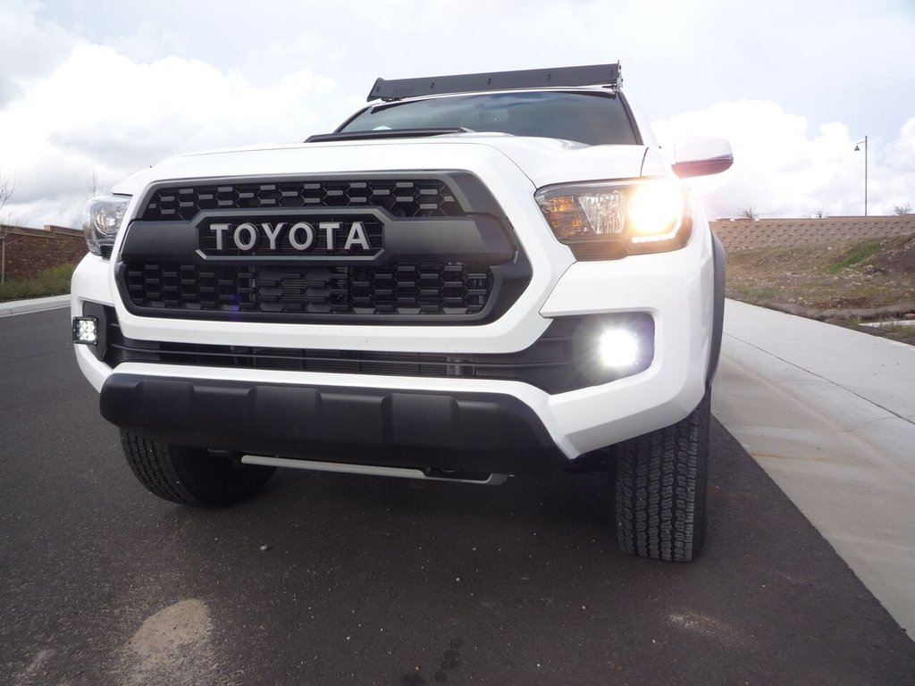 Cali Raised Tacoma Fog Light Led Pod Replacement 2016+
