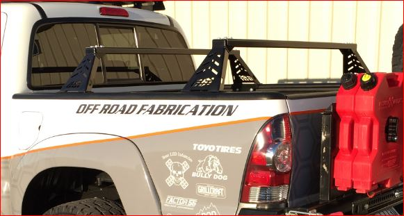 CBI'S Tacoma Overland Bed Bars 2005+