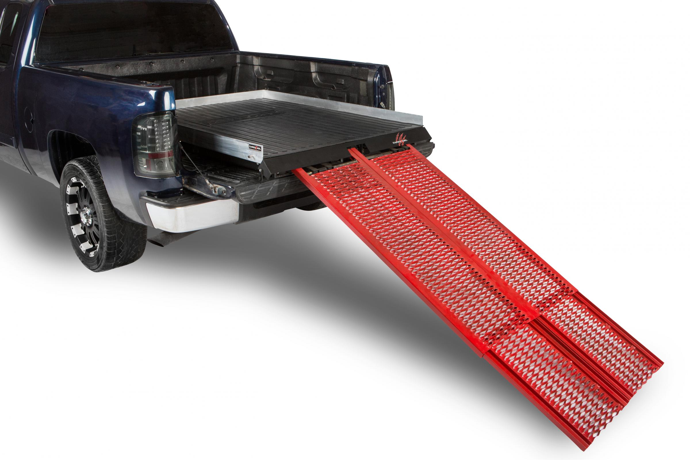 Cargo Ease Cargo Ramp Series Bed Slide 1800 Lb Capacity 03-Pres Toyota Tacoma Double Cab Short Bed