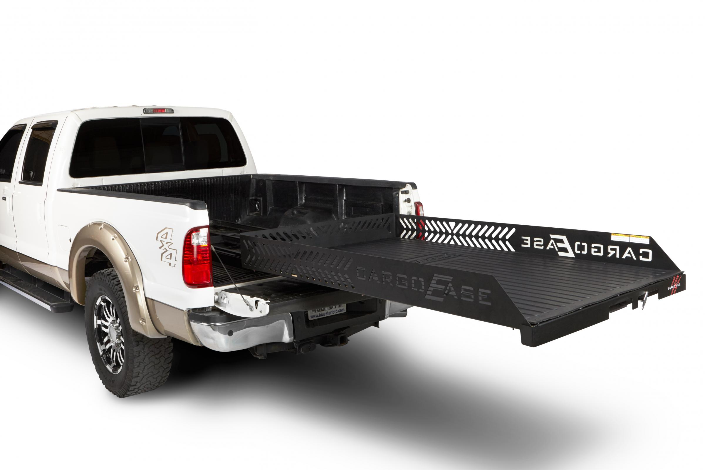 Cargo Ease Full Extension Series Cargo Slide 2000 Lb Capacity 03-Pres Toyota Tacoma Double Cab Short Bed