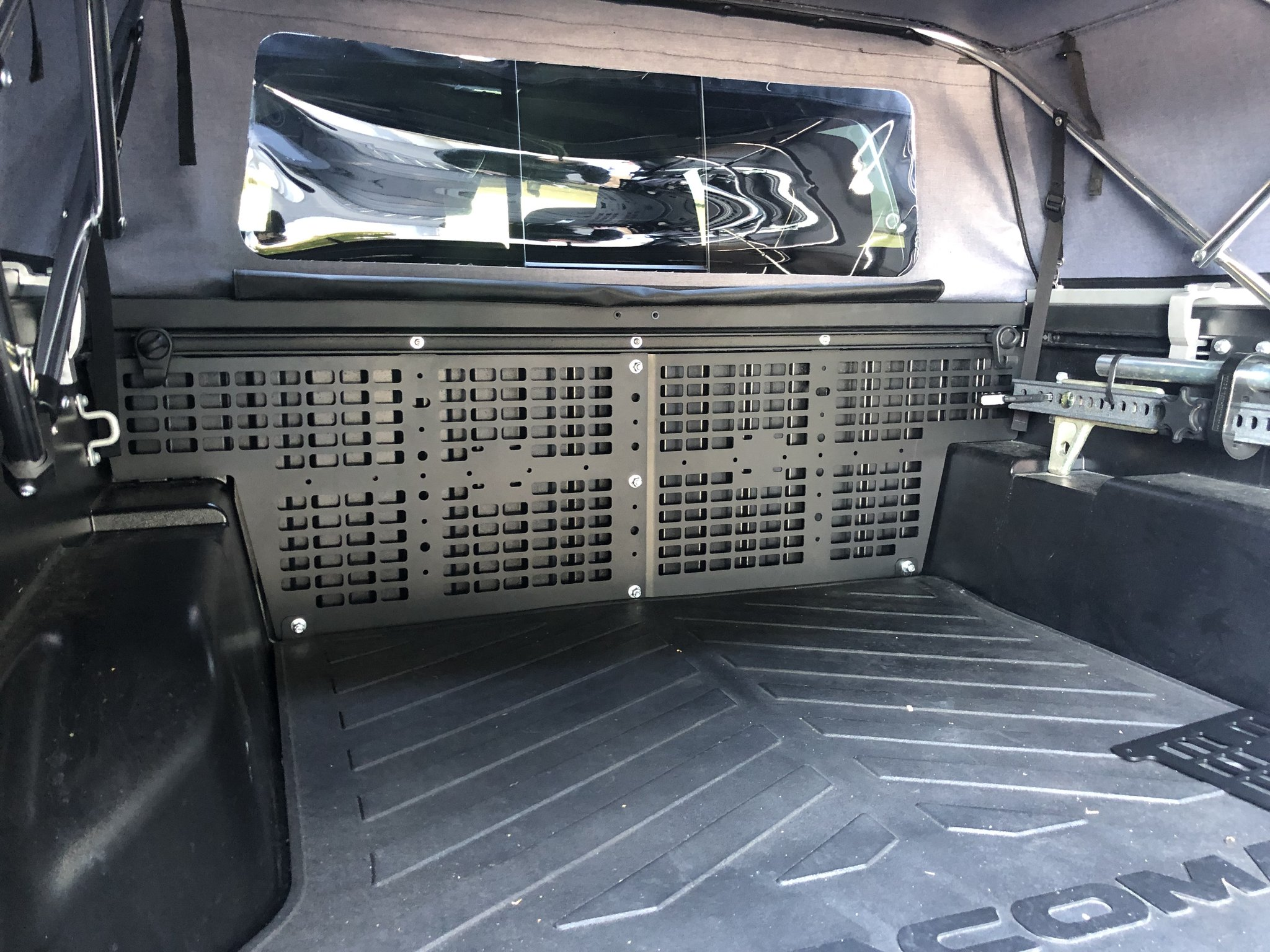Cali Raised Front Bed Molle System 2005+ Ships Free