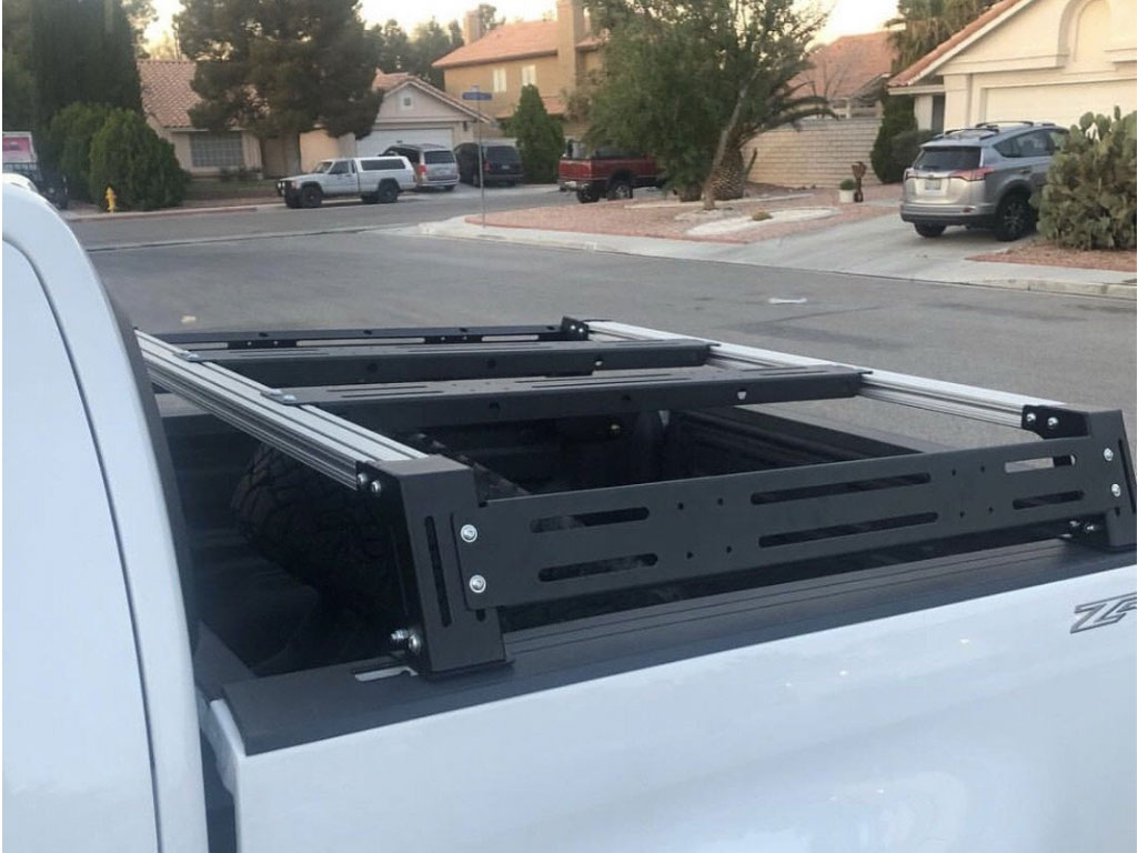 Cali Raised Tacoma Overland Bed Rack 2005 2020 Crtac002x 849 99 Pure Tacoma Parts And Accessories For Your Toyota Tacoma