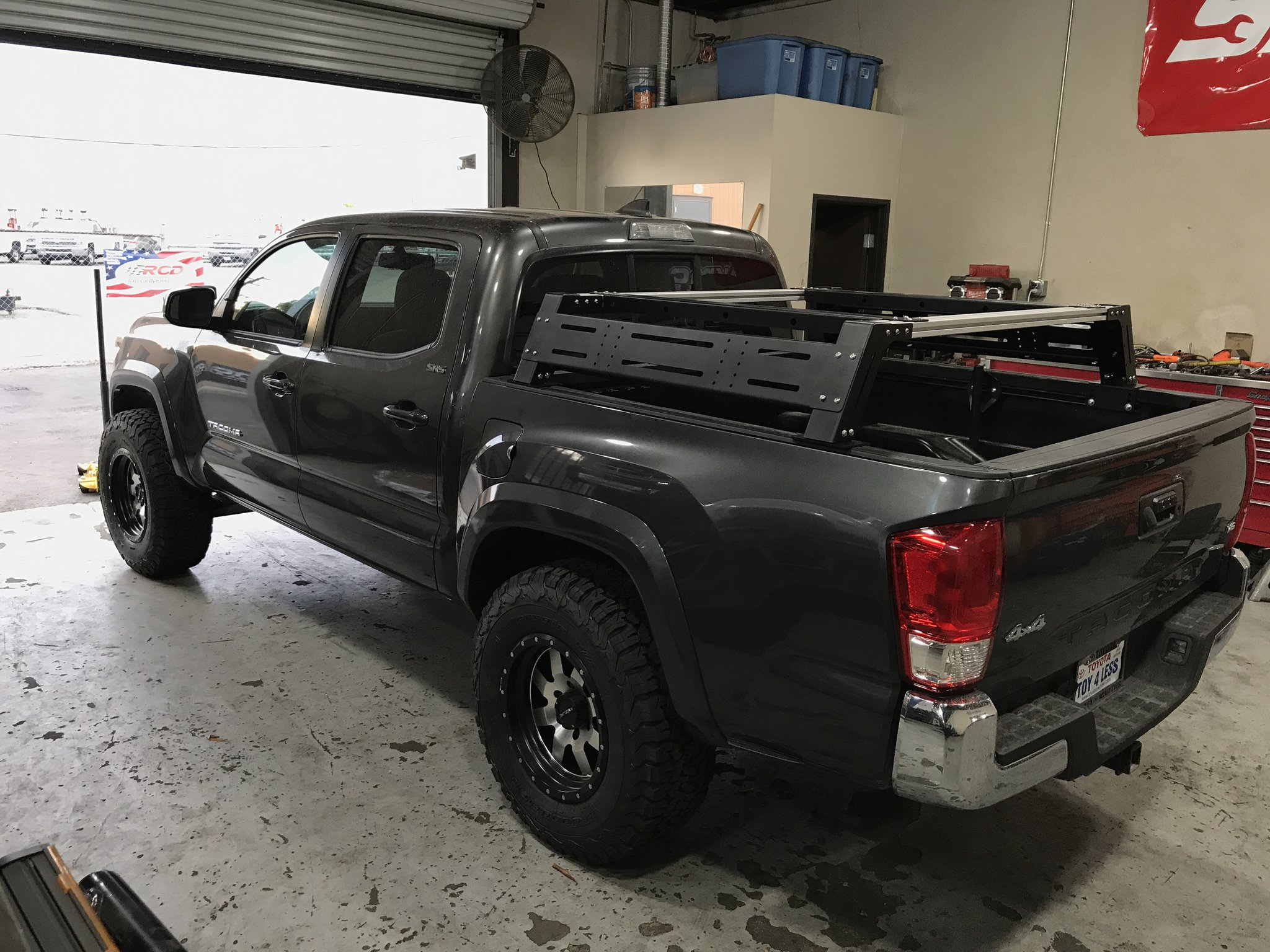 Cali Raised Tacoma Overland Bed Rack 2005-2020