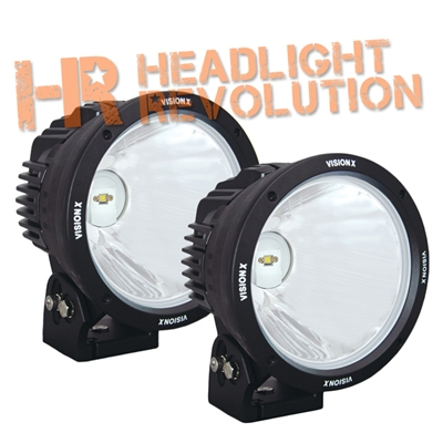 "8.7"" CANNON BLACK 1 90W LED 10? NARROW LIGHT KIT"