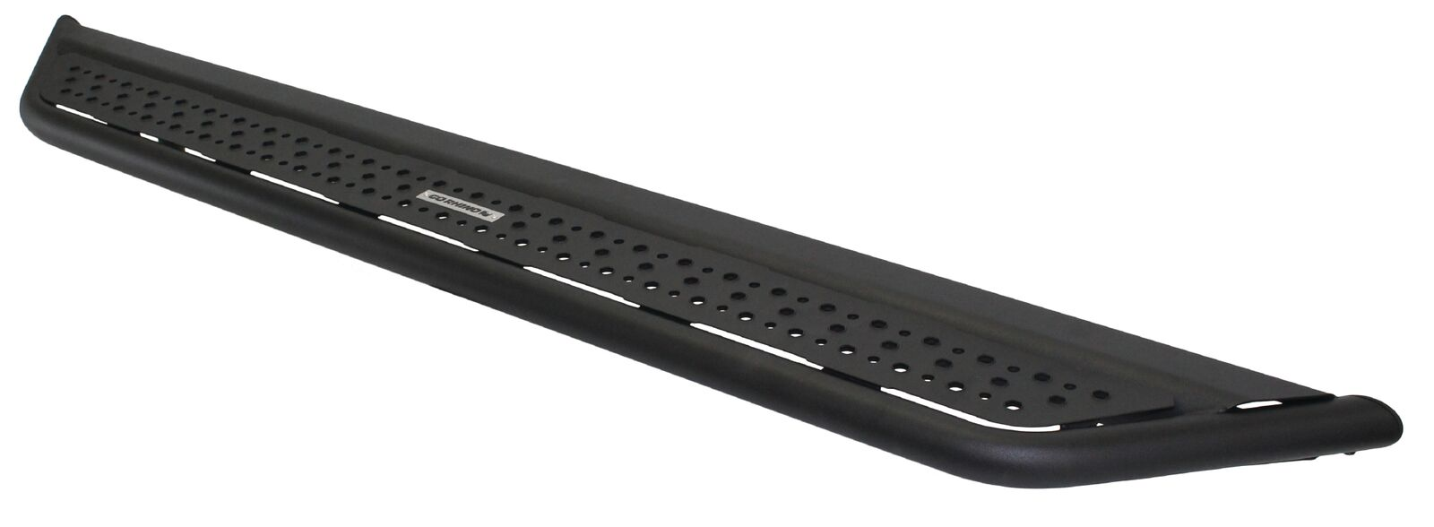 D6 Dominator Steel Side Steps-Black Textured Powdercoat with Mounting Brackets
