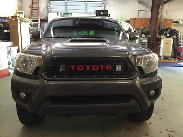 DB Customz 2012-2015 Tacoma Grille insert for Cube LED Lights