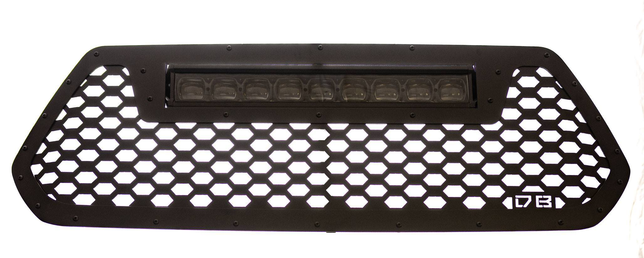 DB Customz 2016-2019 Tacoma 20 in Black Ops LED Light Bar Grille Insert