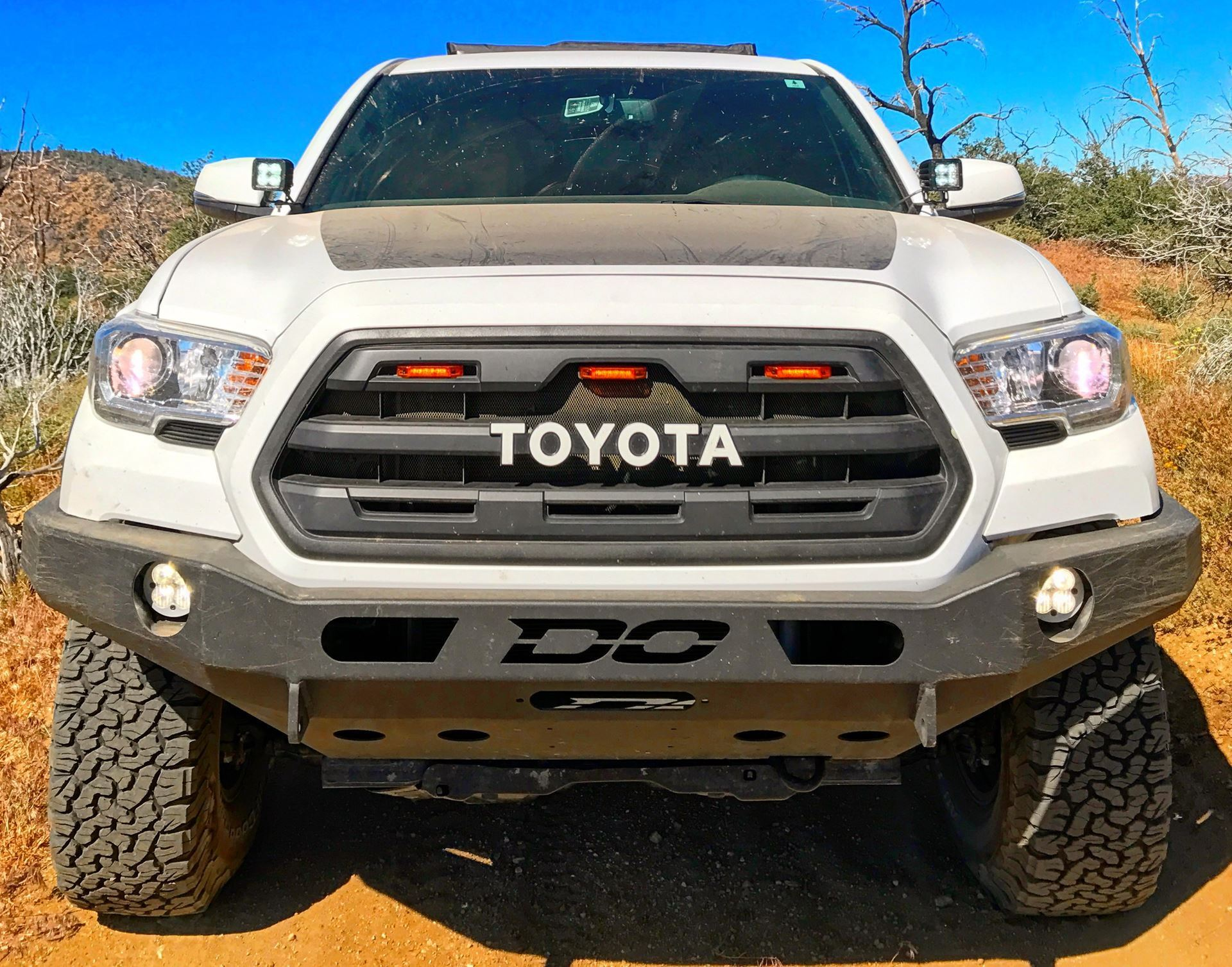Demello Off-Road Tacoma Flat Top Powder Coated