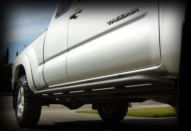 Demello Tacoma Round Bolt On Sliders 2005-2015