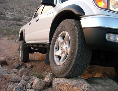 Demello Tacoma Round Sliders 1999.5-2004
