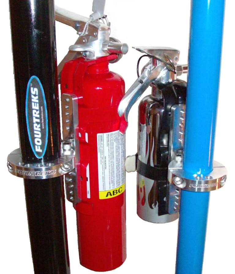 Fourtreks Modular Fire Extinguisher Mount