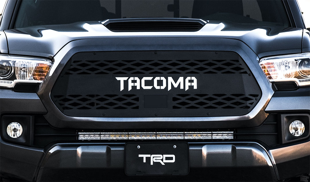 Empyre 2018 Toyota Tacoma Grille Insert (TSS Ready)
