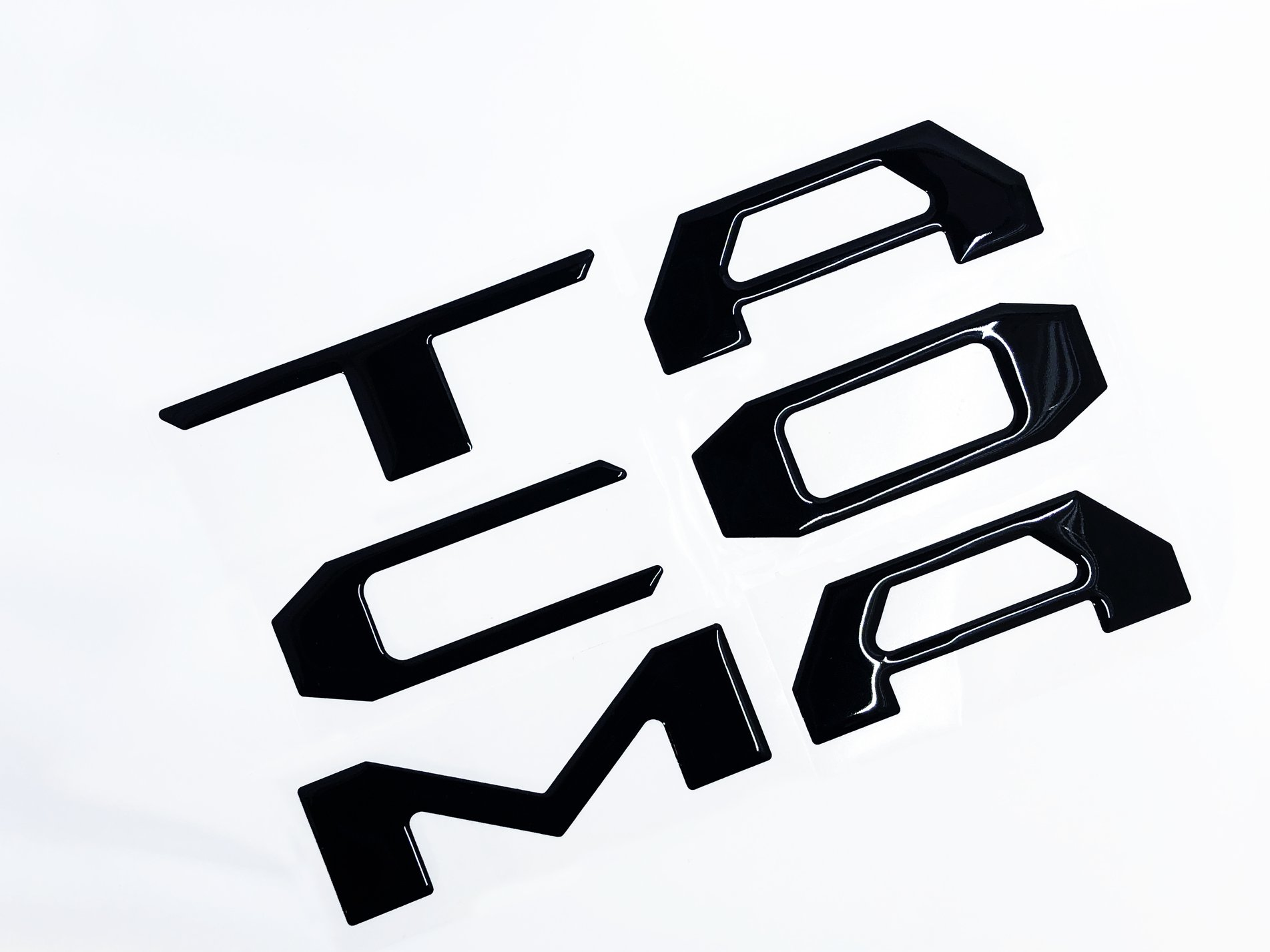 Empyre 2016 - 2020 Tacoma Raised 3D Tailgate Letter Inserts
