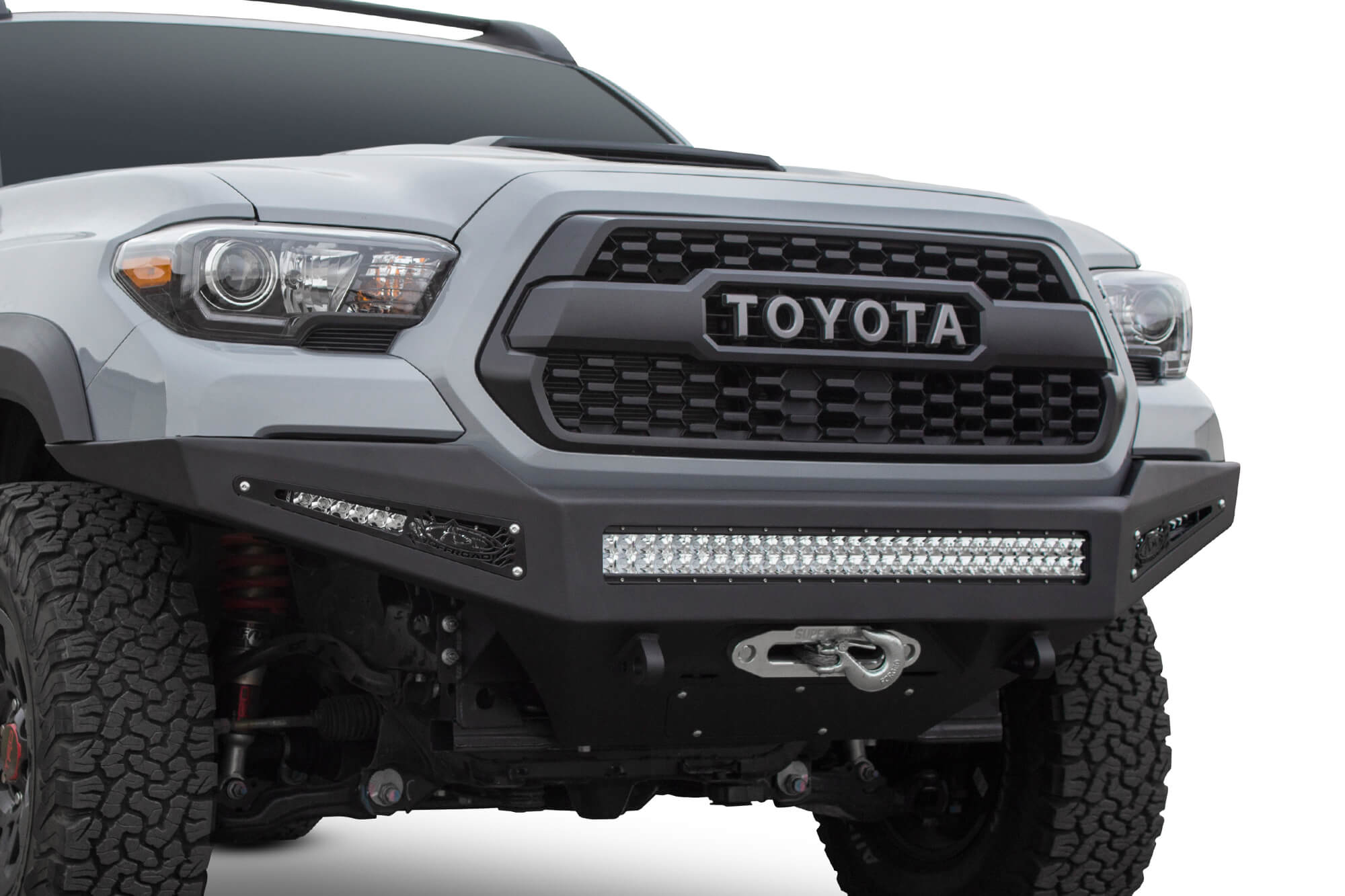 2016+ TOYOTA TACOMA HONEYBADGER WINCH FRONT BUMPER