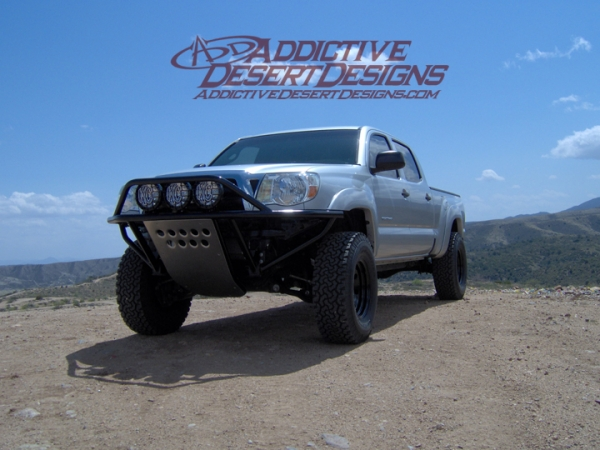 2005 - 2012 Toyota Tacoma Standard Front Bumper