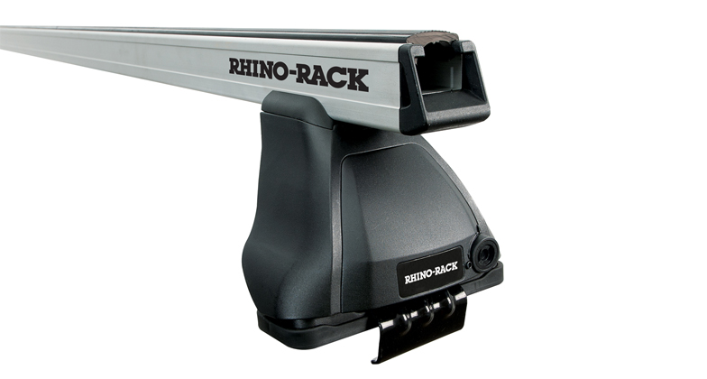 Rhino-Rack Heavy Duty 2500 Silver 1 Bar Roof Rack - 4dr Dbl Cab
