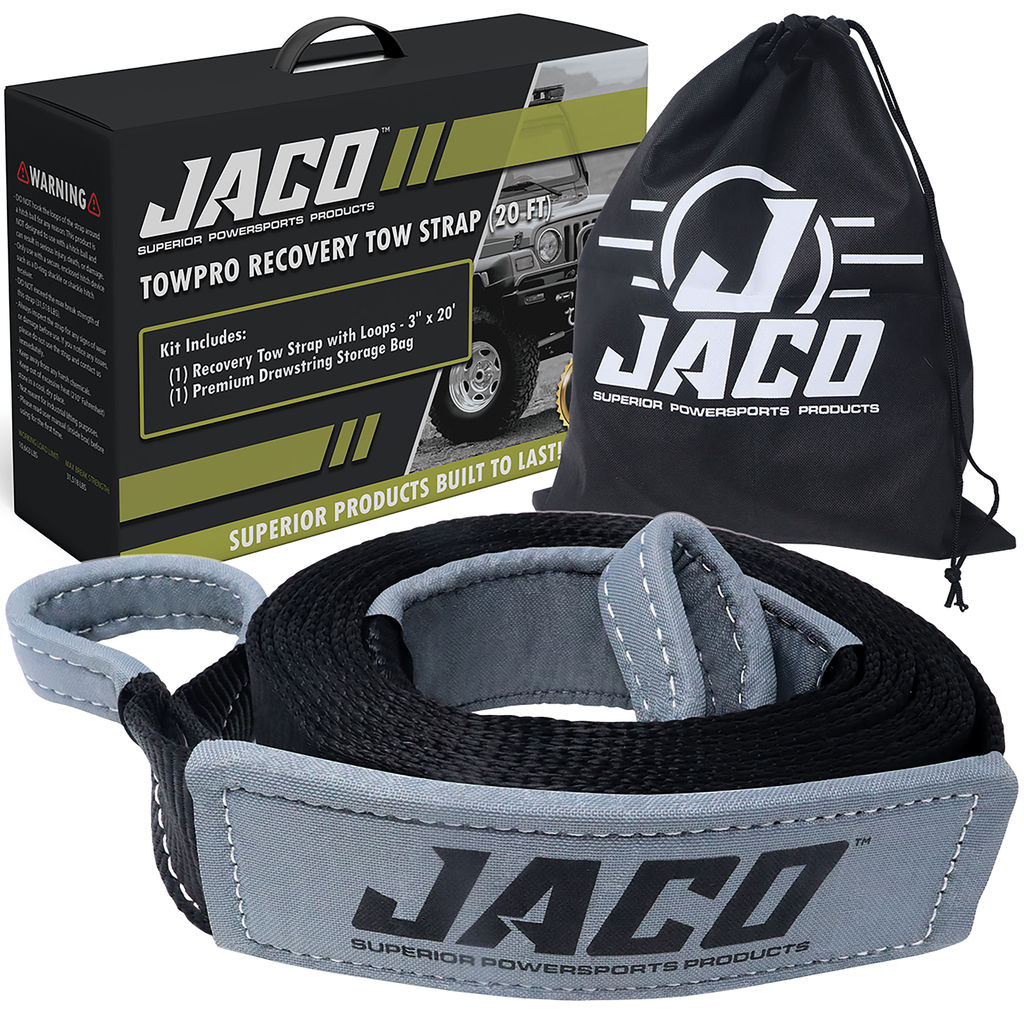 *NEW* - JACO TowPro Recovery Strap - 20 FT/30 FT - Ships Free!