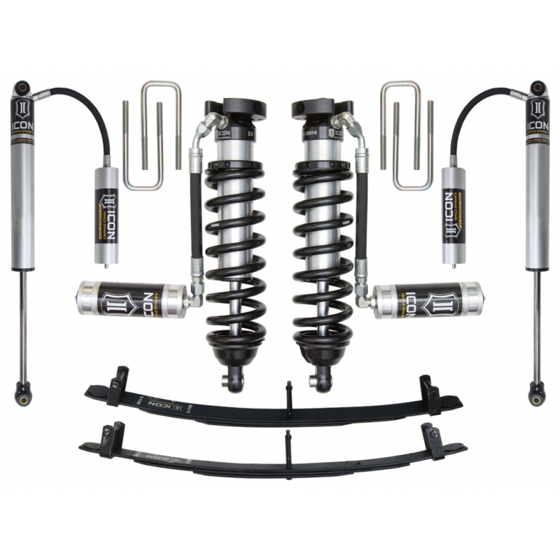 "Icon 0-3"" Suspension System - Stage 3 1996-2004 Toyota Tacoma"