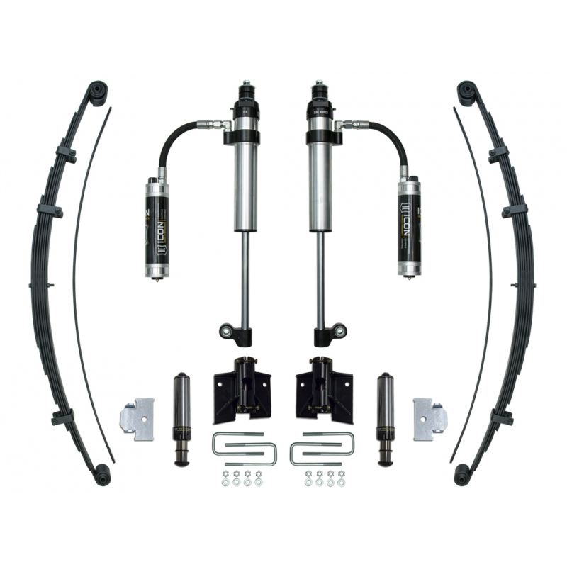 2005-UP Toyota Tacoma RXT Rear Suspension System - Stage 2