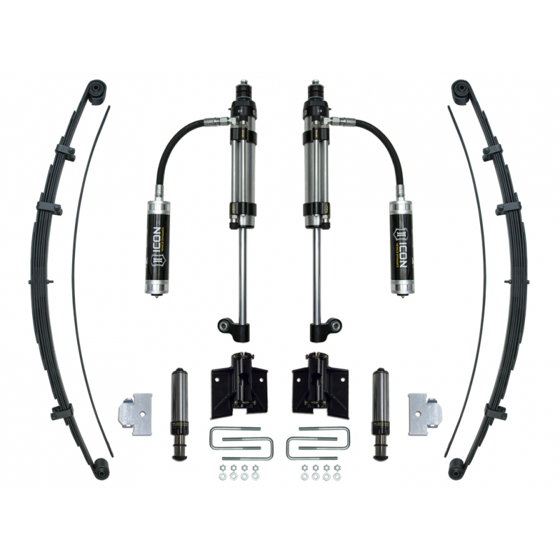 2005-UP Toyota Tacoma RXT Rear Suspension System - Stage 3