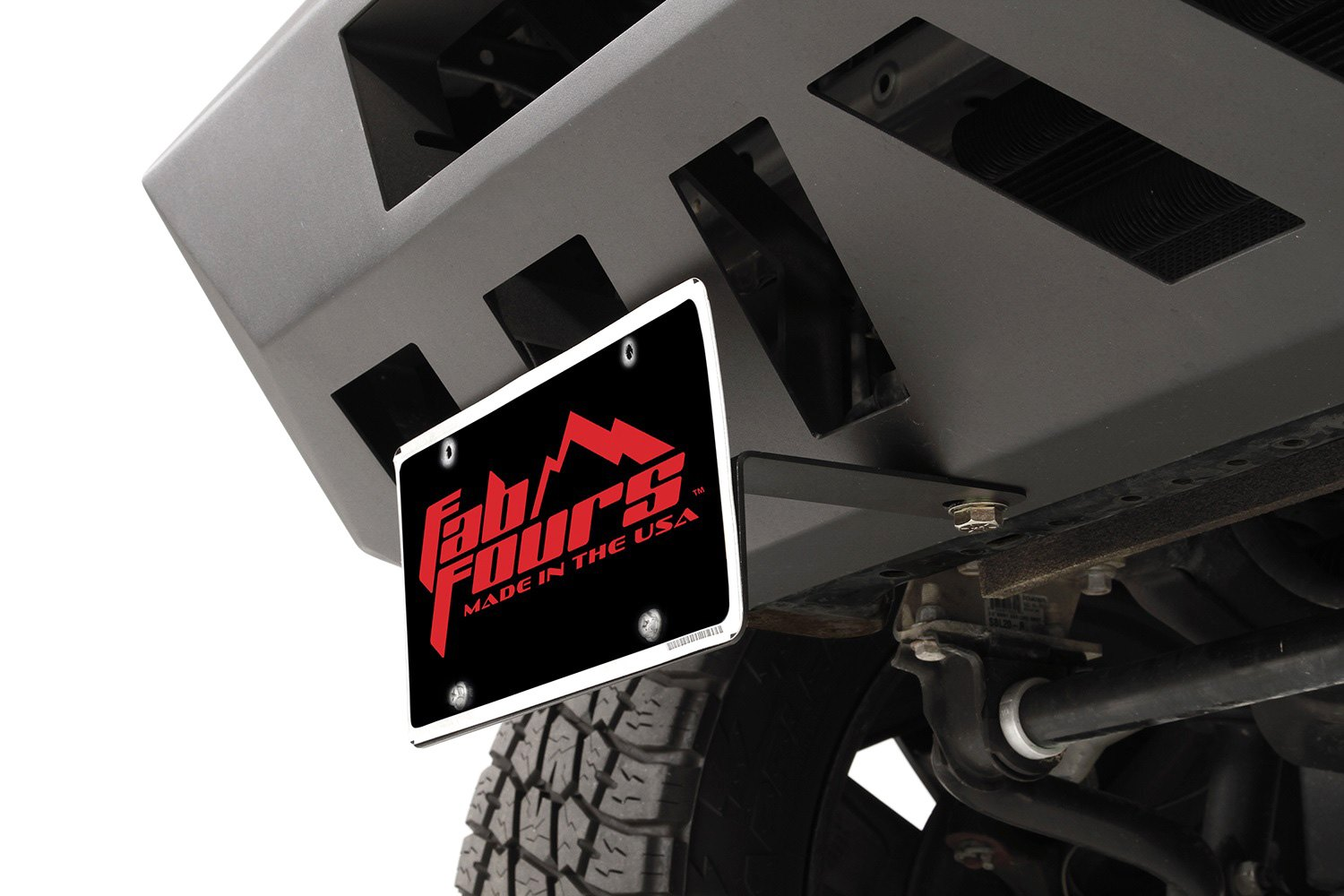 Fab Fours Vengeance Series Front License Plate Bracket