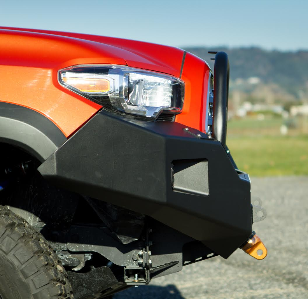 Metal-Tech 2016 Tacoma Front Winch Bumper Stage 1