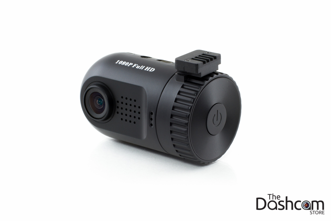 Miniature Single Lens Full HD 1080p Dashcam with GPS