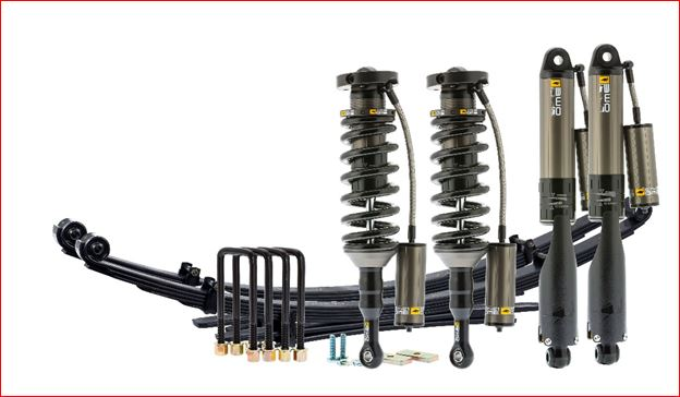 "OME COMPLETE SUSPENSION KIT 2"" LIFT KIT 2005-ON TOYOTA TACOMA W/ BP-51"