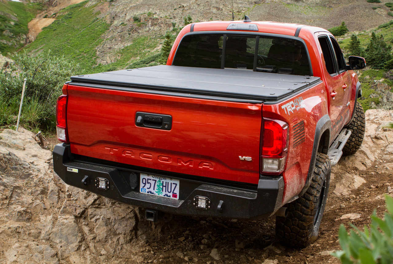 Metal Tech Tacoma Voodoo Rear Bumper Stage 2 2016+