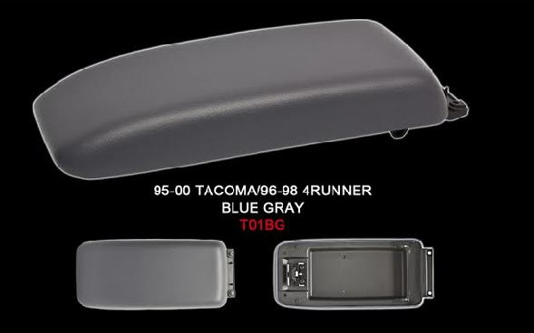 Tacoma Front Center Console Lid 95-00 Blue Grey