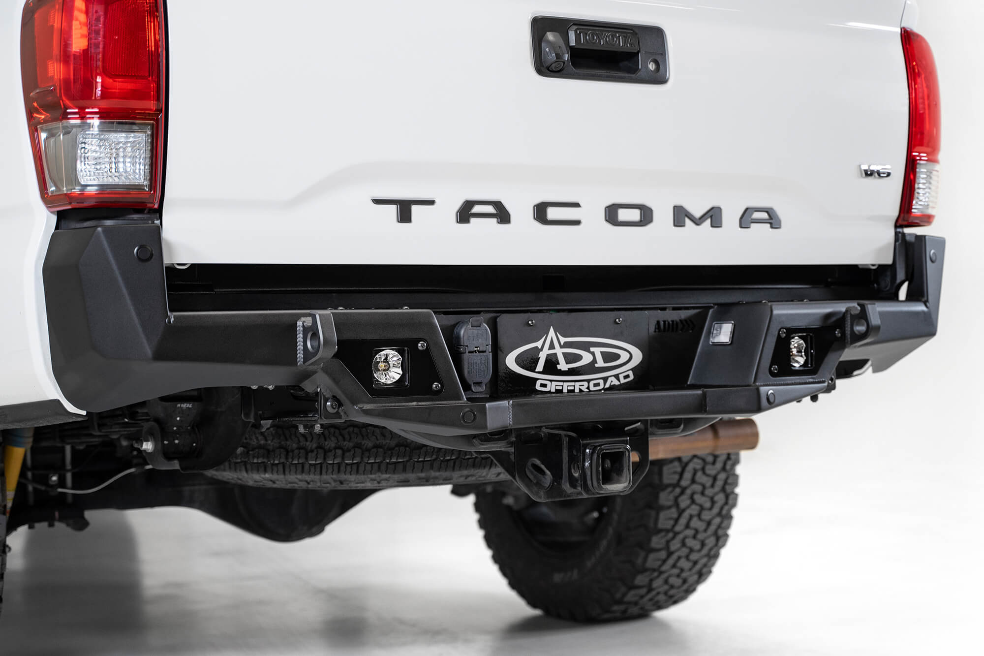 ADD Stealth Fighter Rear Bumper w/Sensors 2016+ Tacoma