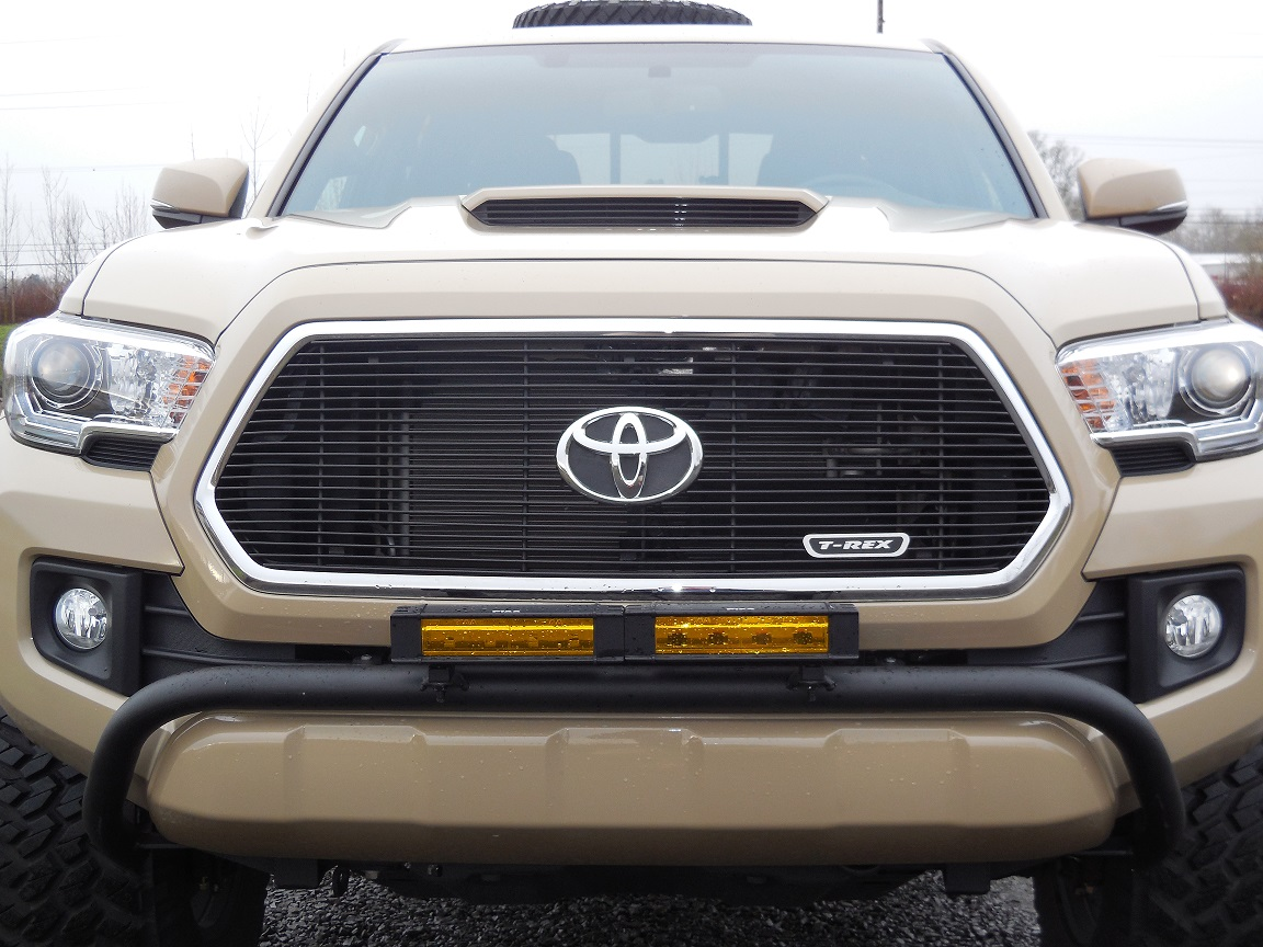 2016 TACOMA LIGHT BAR MOUNT