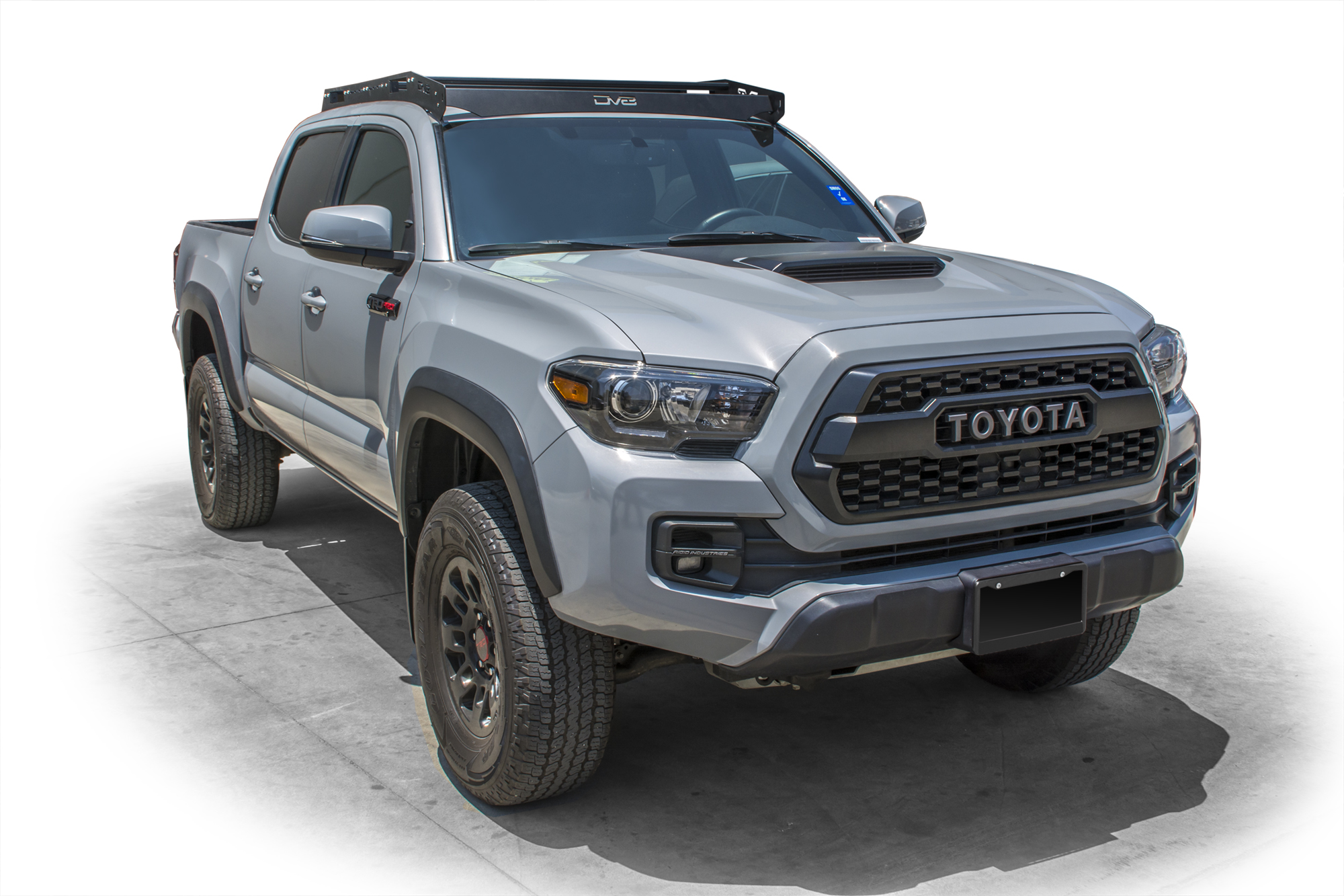 DV8 Offroad Roof Rack (Fits 45 Inch Light Bar) 2016+ Tacoma