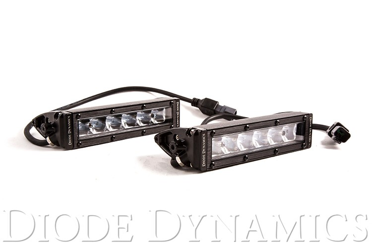 "SS6 Stage Series 6"" White Light Bar (pair)"
