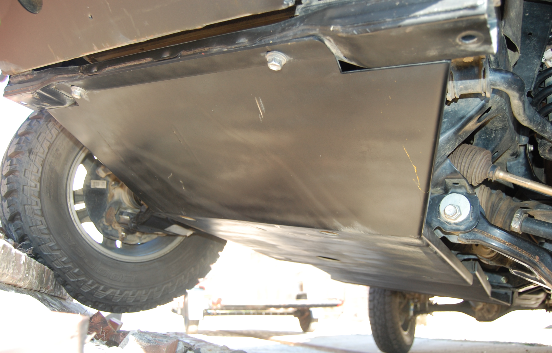 Mobtown Tacoma Front IFS Skid Plate 2005-2015