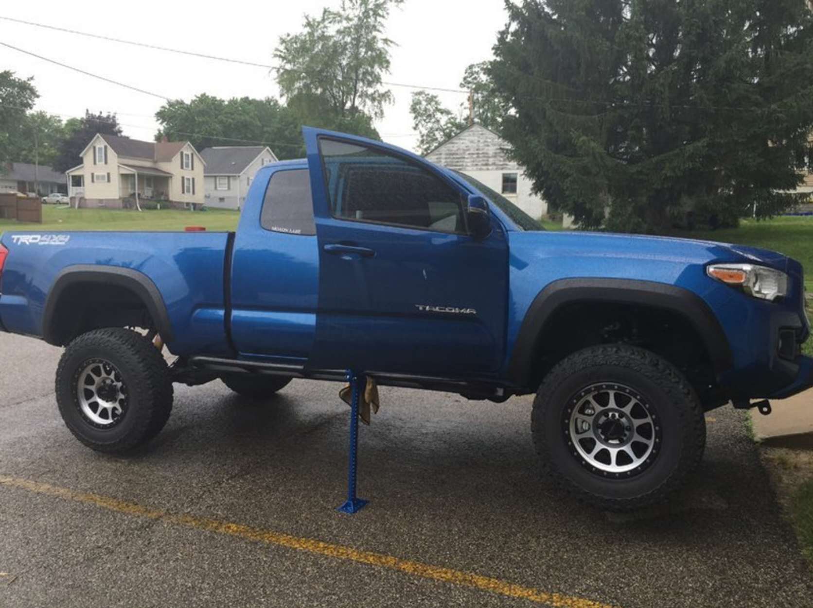 Mobtown Tacoma No Drill Bolt-On Rock Sliders 2016+
