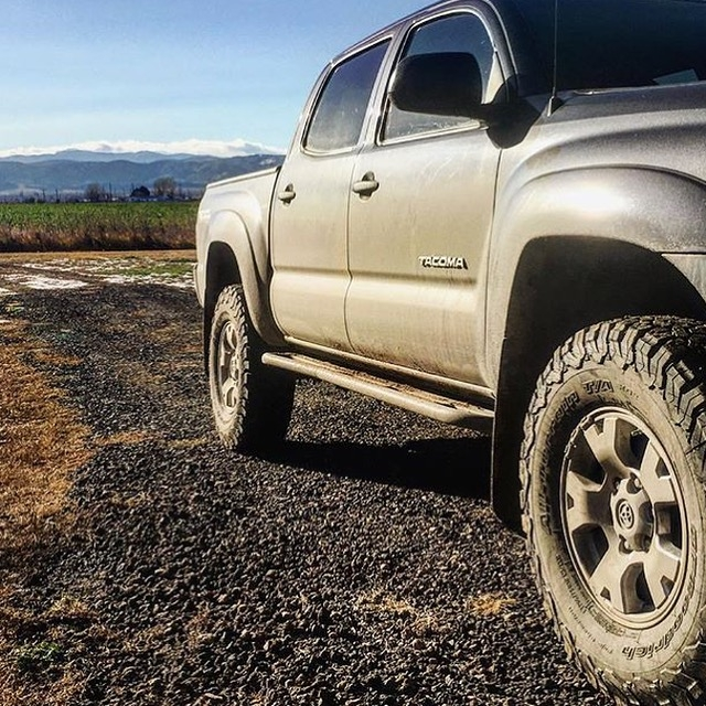 RCI Metalworks Tacoma Rock Sliders 2005-2015