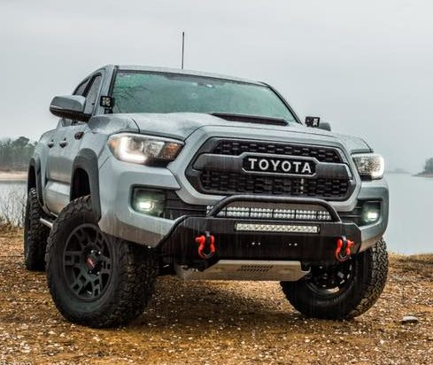 Southern Style Tacoma Slimline Hybrid Bumper with 20 in. Heise LED 2016+