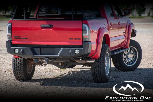 Expedition One 2nd Gen Tacoma Base Rear Bumper 2005-2015