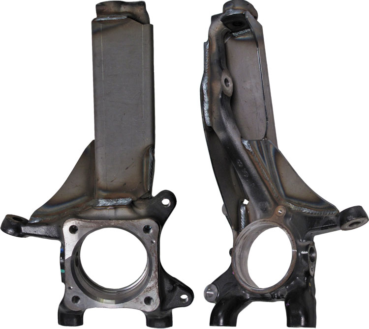 Total Chaos Weld-On Spindle Gussets w/ Swaybar Mounts 05-15