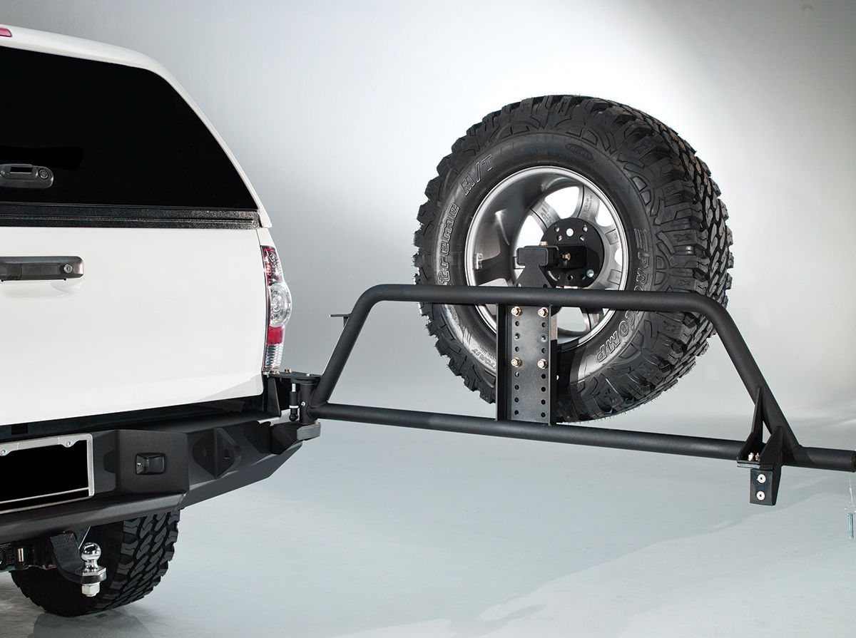 Fab Fours Optional Rear Bumper Tire Carrier 2005-2015 Tacoma