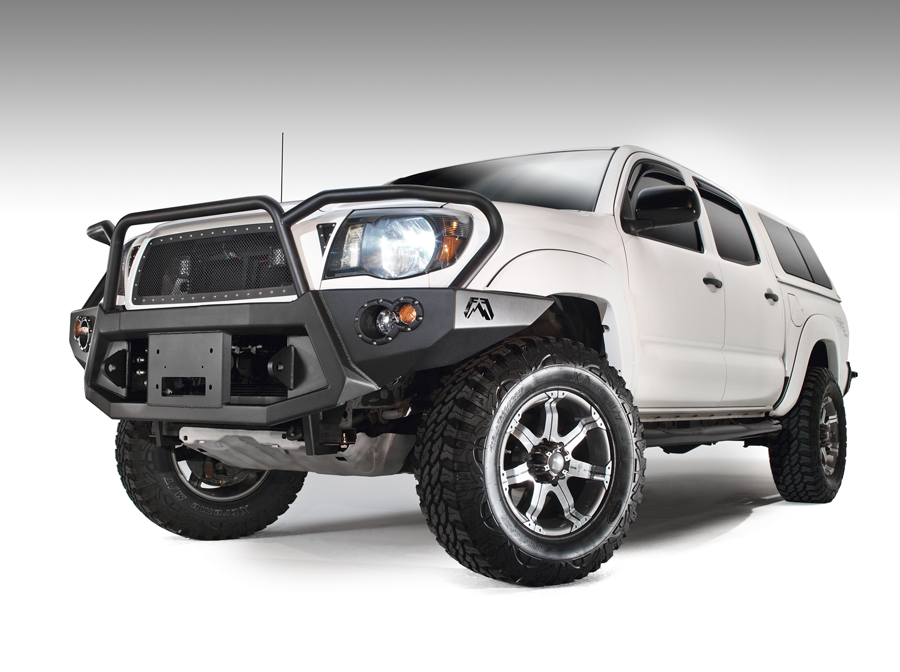 Fab Fours Premium Front Bumper W/ Full Guard 2005-2011 Tacoma