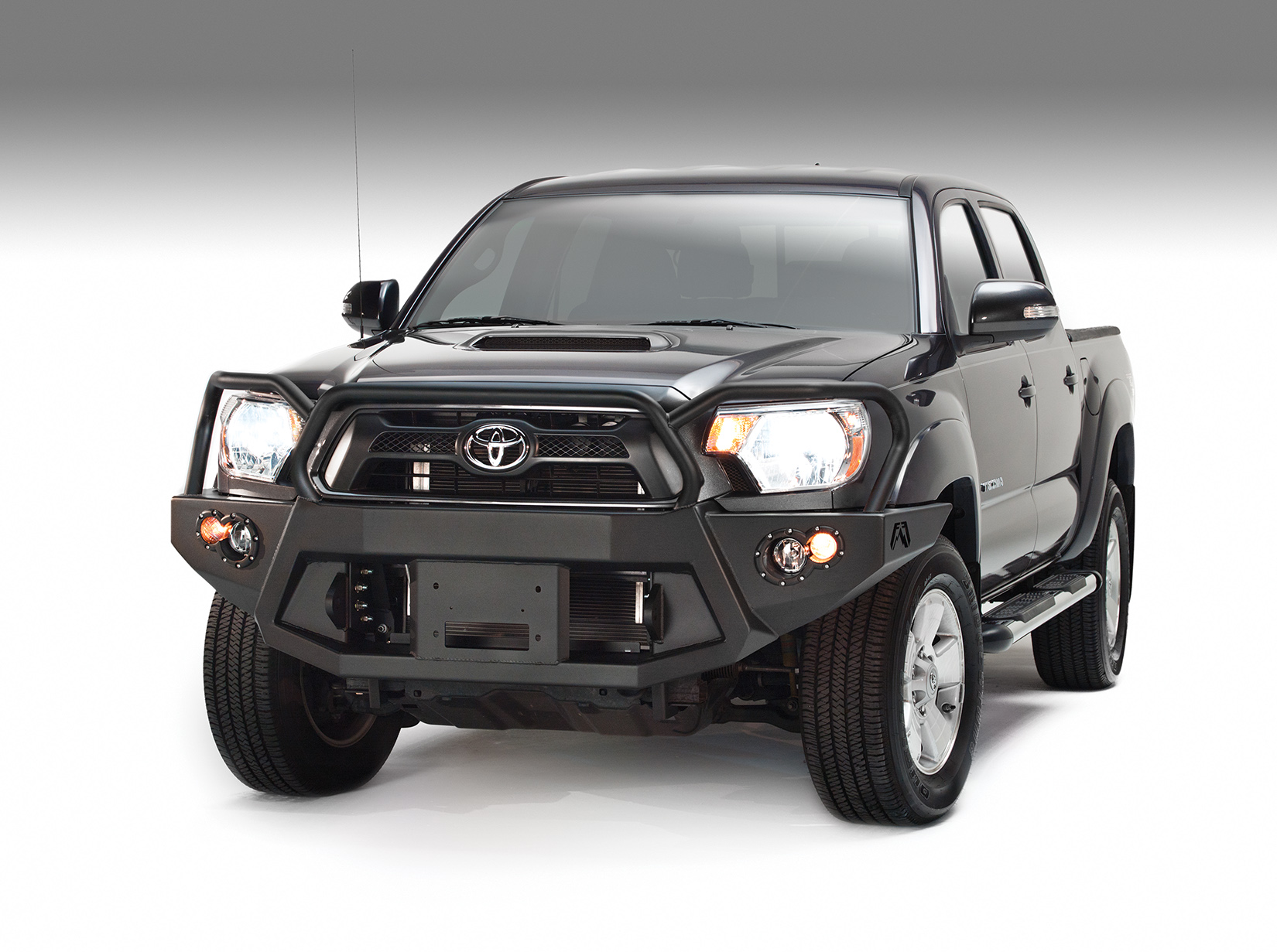 Fab Fours Premium Front Bumper W/ Full Guard 2012-2015 Tacoma
