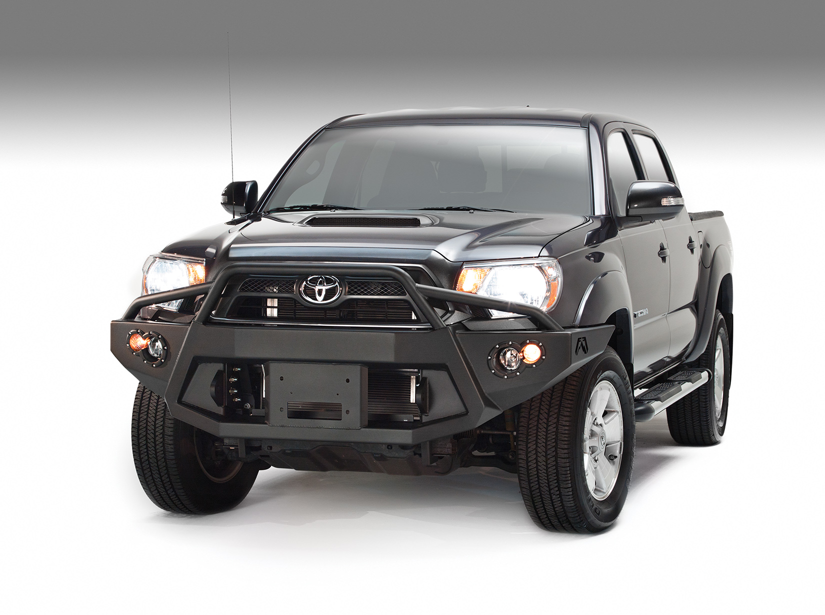Fab Fours Premium Front Bumper W/ Pre-Runner Guard 2012-2015 Tacoma