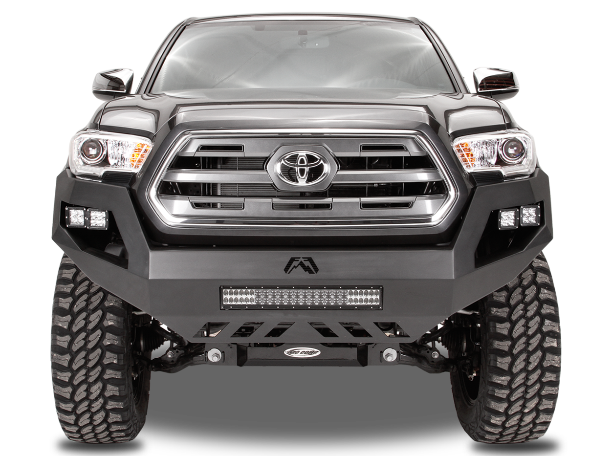 Fab Fours 2016+ Toyota Tacoma Vengeance Front Bumper w/No Guard