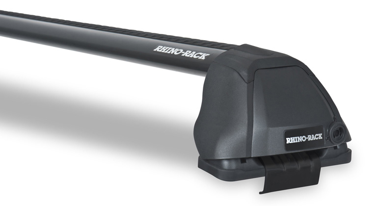 Rhino-Rack Vortex 2500 RS Black 2 Bar Roof Rack - 2dr Access Cab