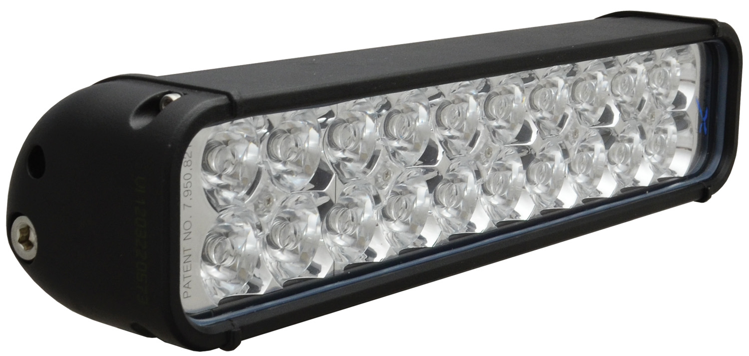 "12"" XMITTER LED BAR BLACK 20 3W LED'S EURO"