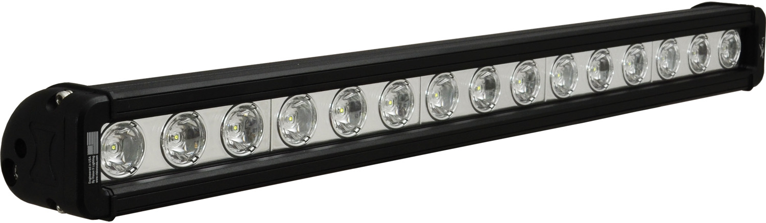"20"" XMITTER LOW PROFILE BLACK 15 3W LED'S 10? NARROW"