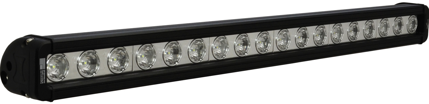 "24"" XMITTER LOW PROFILE BLACK 18 3W LED'S 10? NARROW"